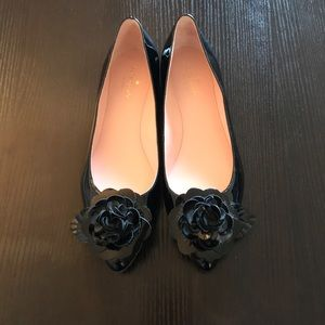 Kate spade patent leather ballet flats